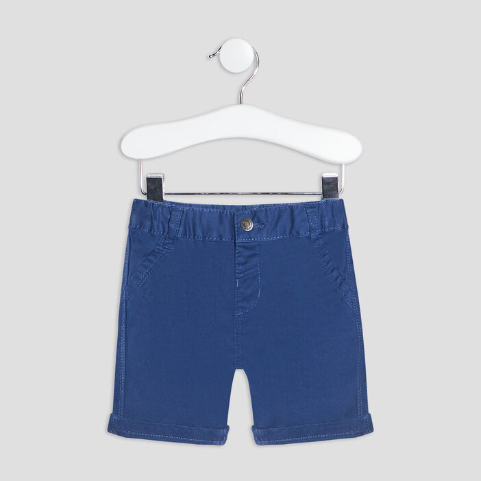 Bermuda droit bébé garçon bleu marine