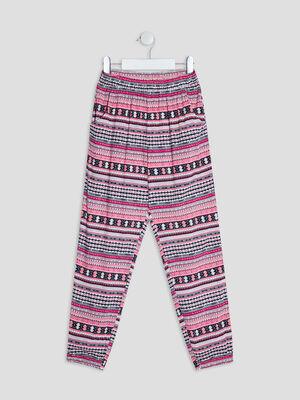 Pantalon jogging multicolore fille