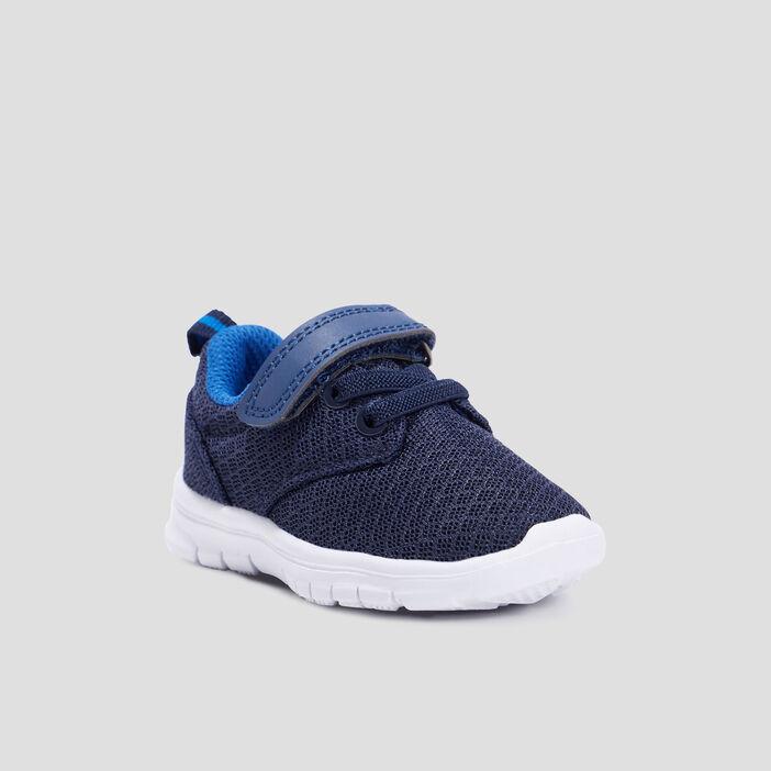 Baskets running bébé garçon bleu