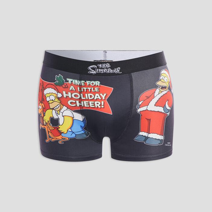 Boxer Les Simpsons homme noir