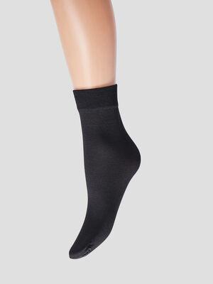 Lot 2 paires socquettes noir mixte
