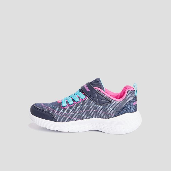Runnings Skechers fille bleu marine