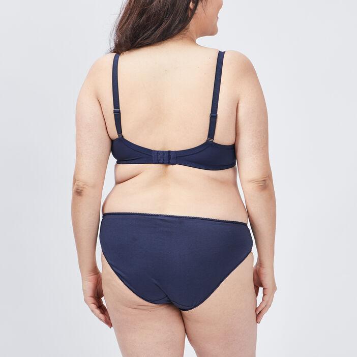 Soutien-gorge grande taille femme grande taille bleu marine