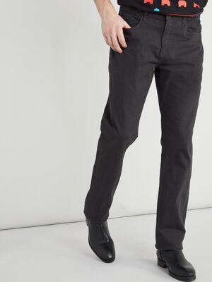 Pantalon gris fonce homme