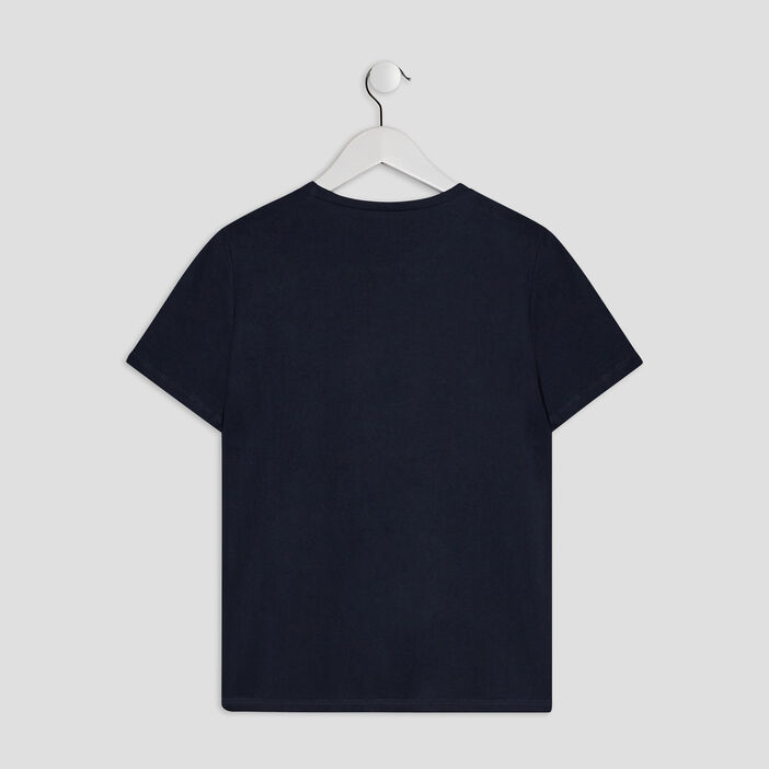 T-shirt manches courtes Creeks garçon bleu marine