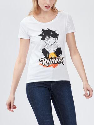 T shirt Radiant blanc femme