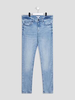 Jeans slim Creeks denim bleach garcon