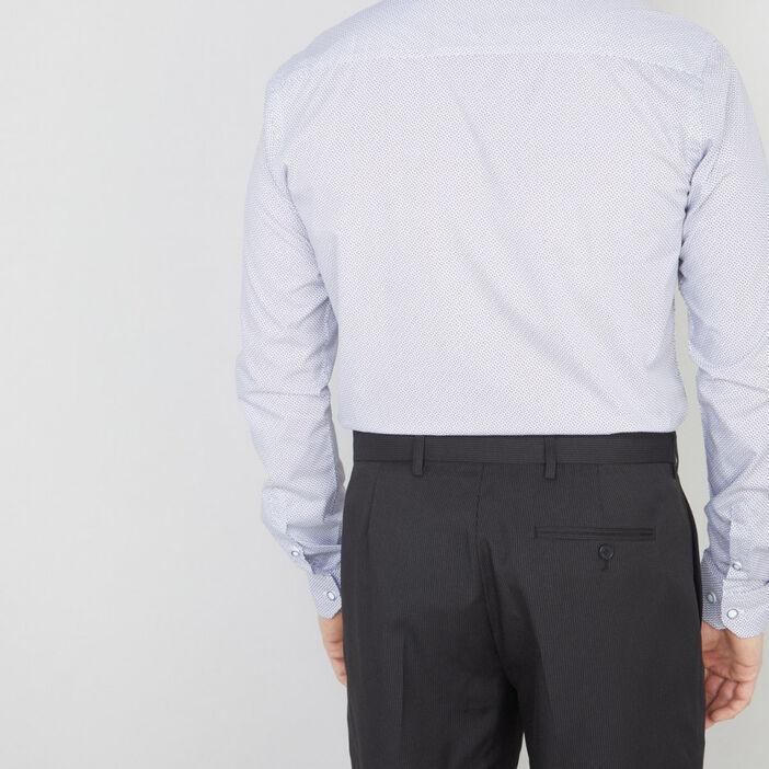 Chemise manches longues homme blanc