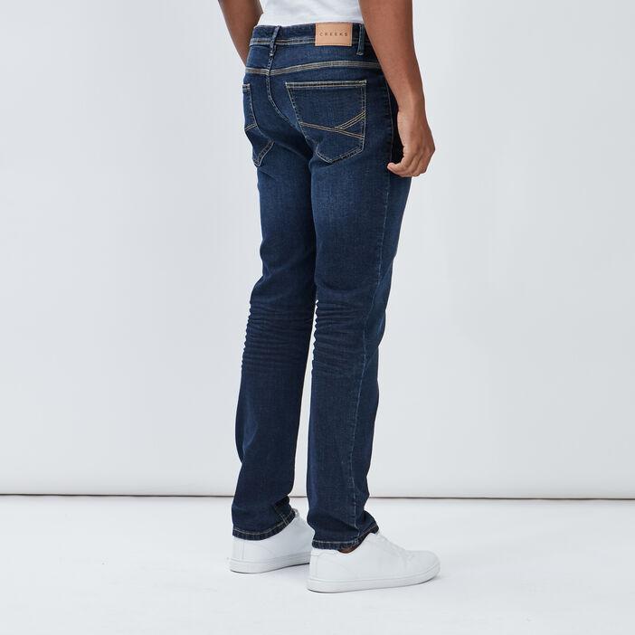 Jeans regular Creeks homme denim brut