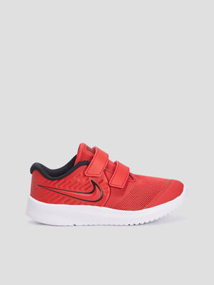 Baskets running Nike rouge fille