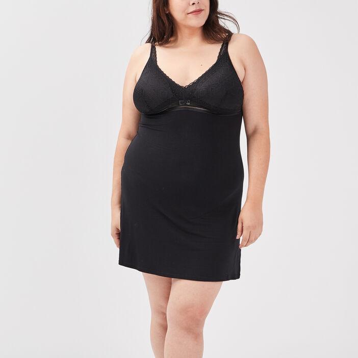 Nuisette grande taille femme noir
