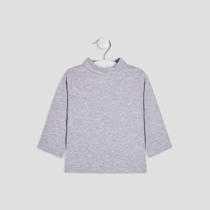 T-shirt manches longues bébé garçon gris