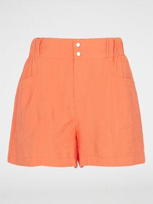Bermuda short orange femme