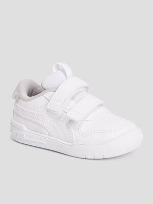 Tennis Puma blanc bebef