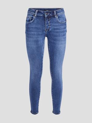 Jeans slim 78eme denim stone femme