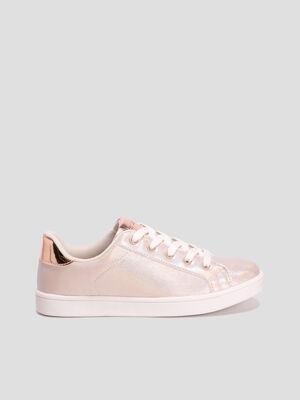 Baskets tennis Creeks couleur or fille