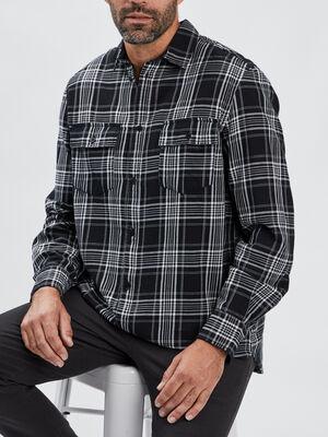 Chemise Liberto noir homme