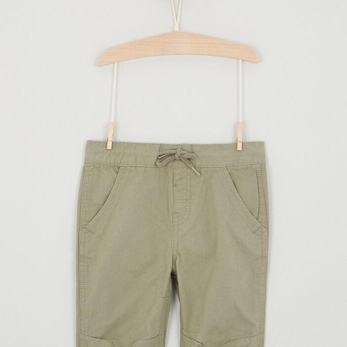 Short, Bermuda garçon vert kaki