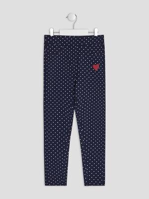 Pantalon jogging bleu marine fille