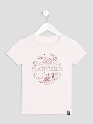 T shirt Harry Potter rose fille