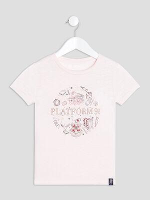 T shirt Harry Potter rose fille