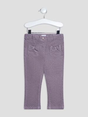 Pantalon slim taupe bebef