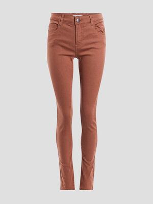 Pantalon camel femme