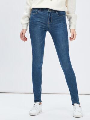 Jeans slim taille standard denim dirty femme