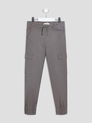 Pantalon battle vert kaki garcon