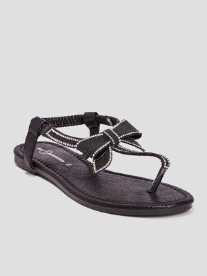 Sandales Mosquitos noir femme