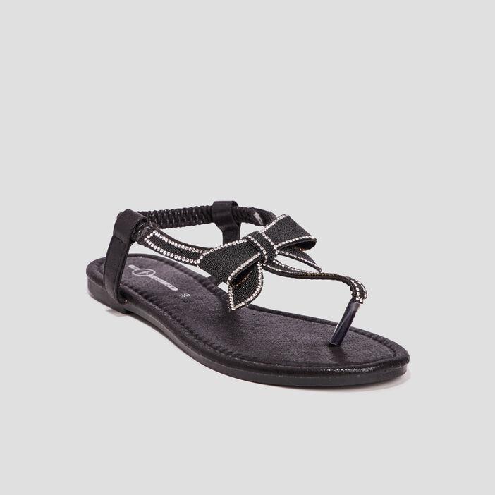 Sandales Mosquitos femme noir