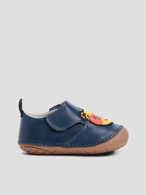 CHAUSSURES A LACETS bleu marine bebe