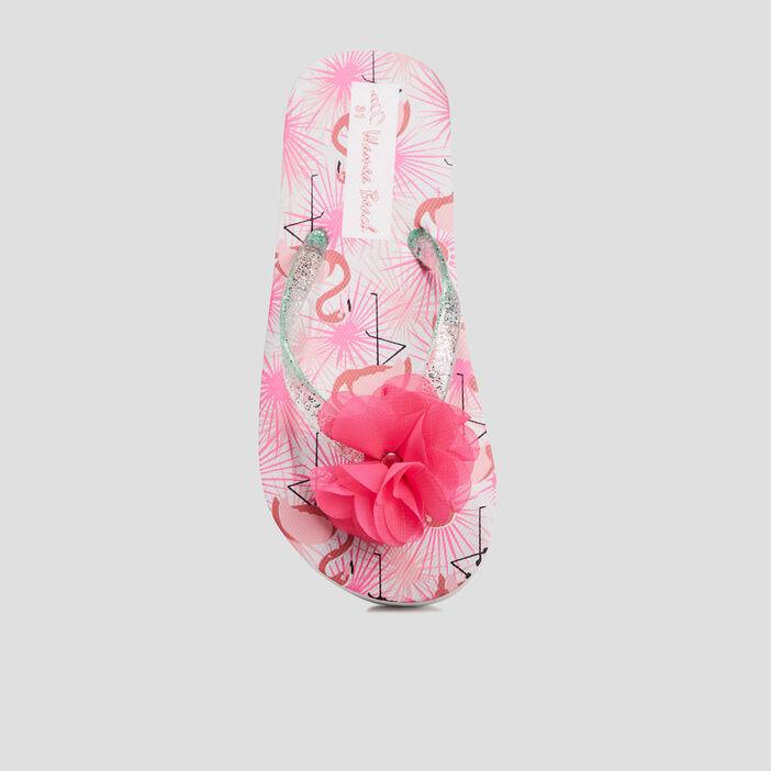 Tongs fille rose