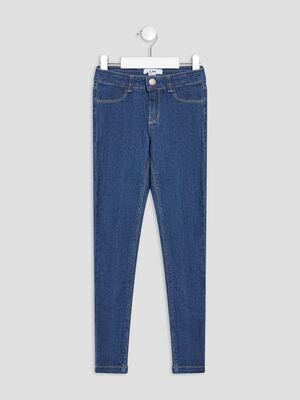 Jeans slim denim brut fille