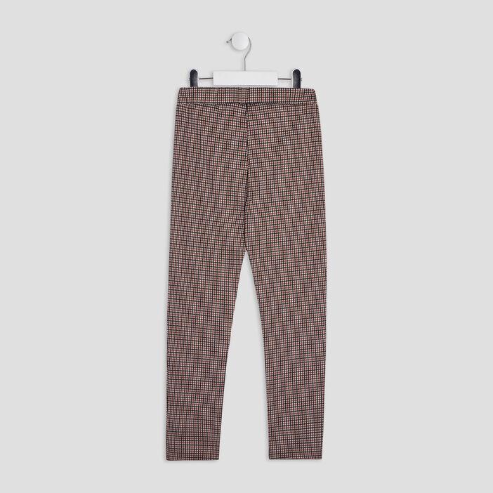 Pantalon droit avec pattes fille multicolore