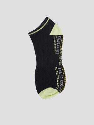 Lot 5 paires de socquettes noir garcon
