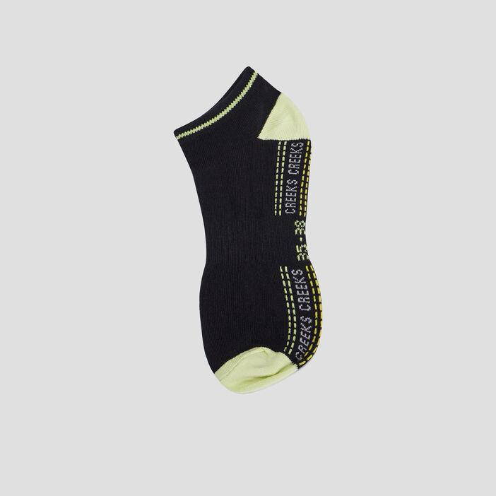 Lot 5 paires de socquettes garçon noir