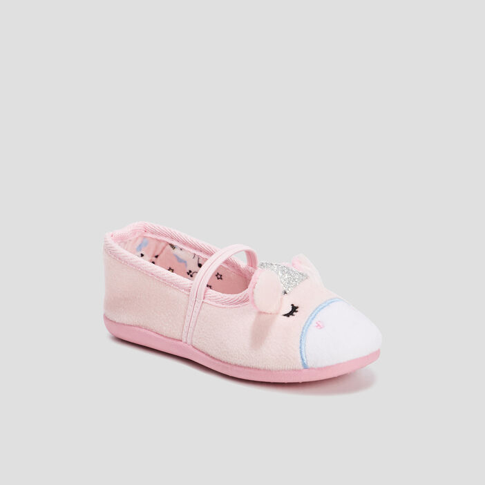 Chaussons ballerines  rose