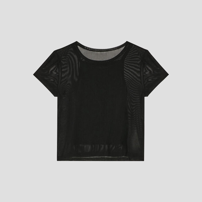 T-shirt Liberto fille noir