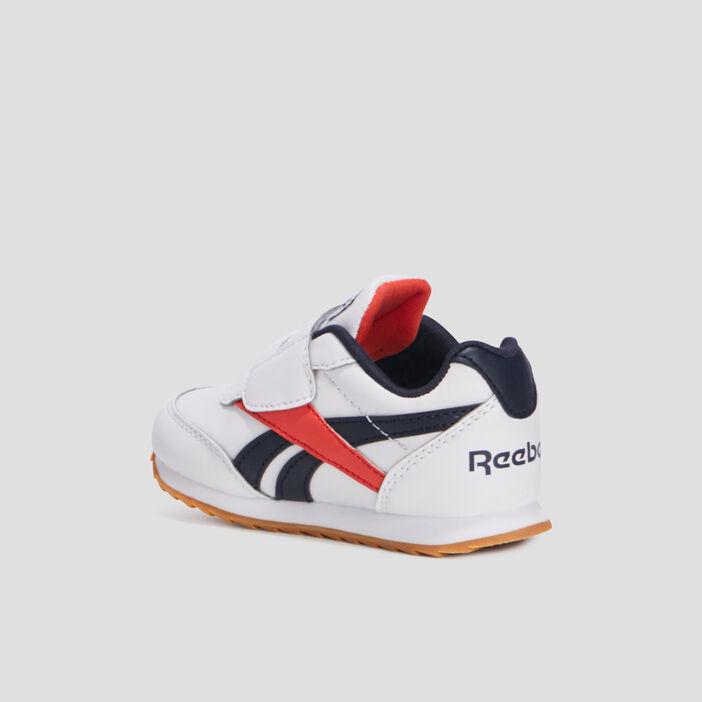 Baskets retro running Reebok bébé garçon blanc