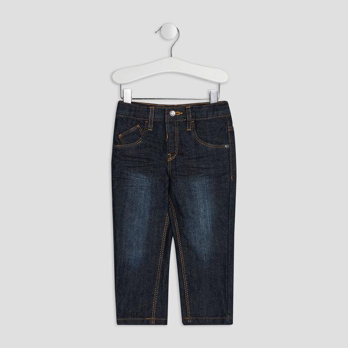 Jeans regular bébé garçon denim blue black