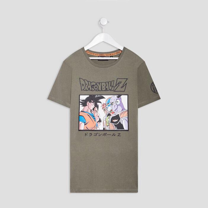 T-shirt Dragon Ball Z garçon vert kaki