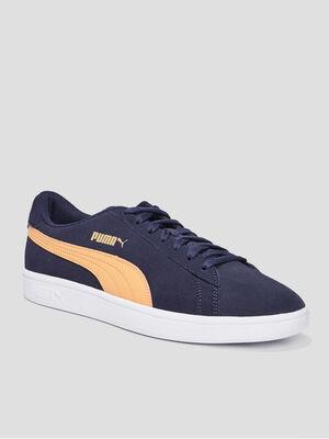 Tennis Puma bleu marine homme