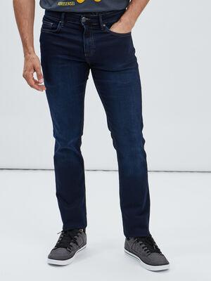 Jeans regular stretch denim brut homme