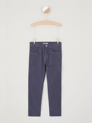 jean droit 5 poches bleu garcon