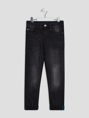 Jeans slim Liberto noir garcon