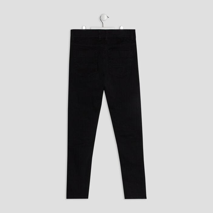 Pantalon droit garçon noir