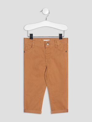 Pantalon droit marron bebeg