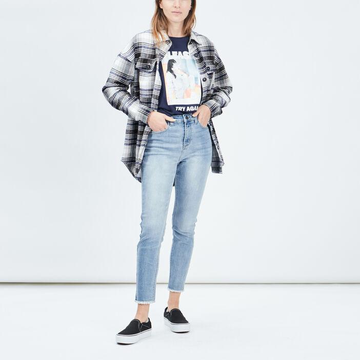 Jeans skinny Liberto femme denim double stone