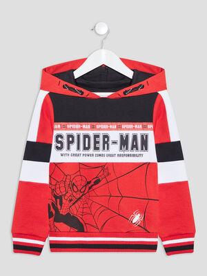Sweat a capuche Spider Man multicolore garcon